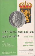 Les Monnaies De Belgique (1790-1984) Par J. De Mey Et G. Pauwels - Livres, BD, Revues