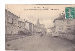 25197 DIEULOUARD - (Environs De Pont-à-Mousson ) -route Nationale - Ed Henrich - Dieulouard