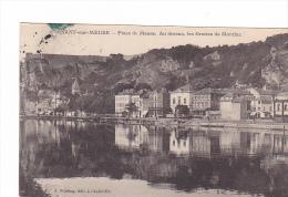 25200 Dinant Sur Meuse - Place De La Meuse Dessus Grottes Montfat -Winling Ed Charleville