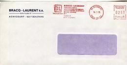 EMA,industrie,fonte,fonderie,Bracq-Laurent,Achicourt,62 Beaurains,Pas De Calais,lettre 14.1.1985 Beaurains - Fabriken Und Industrien
