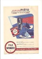 Protège Cahier Wonder Le Boitier Piéto Protège Tous Ceux Qui  Peuvent Courir Un Risque...  Des Années 1960 Environ - Protège-cahiers