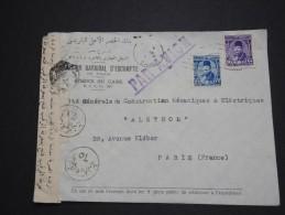 EGYPTE- Détaillons Jolie Collection De Documents Période 1880 à 1955 -  A Voir - Lot N° 10216