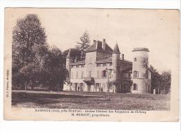 25211 DAGNEUX Près Montluel Ancien Chateau CHILOUP -m Romeuf Proprietaire -cl Nicolas Montluel - Montluel