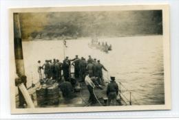 Sutherland Loch Eribol May 1945 Original Photograph Of German U-boat Submarine Surrendering - Sutherland