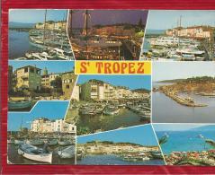 SAINT TROPEZ  - Dépt 83  -  Multivues - CPSM - - Saint-Tropez
