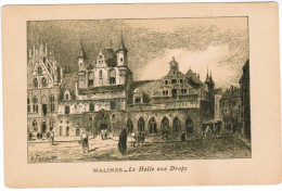 Mechelen, Malines, La Halle Aux Draps (pk24986) - Mechelen