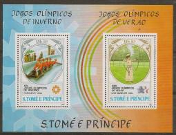 SAO TOME AND PRINCIPE 1983 Olympic Games - Sao Tome Et Principe