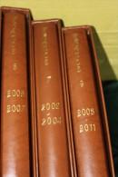 collection compl�te FRANCE de 2002 � 2011 ( 3 albums ) - FACIALE : 1275 EUROS