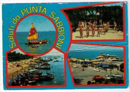 SALUTI DA PUNTA SABBIONI  (VE) - Venezia (Venice)