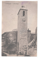 CP CABRIES L'Horloge (13 Bouches Du Rhône) - France