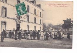 25221 DREUX  101e REGIMENT INFANTERIE - CASERNE DE BILLY - Revue Cuirs - 5 Ed ? 2764 E.P.