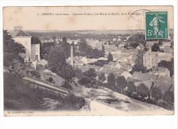 25222 DREUX  Vol Oiseau -quartier Saint Jean Bleras Moulin Promenade -1 Foucault