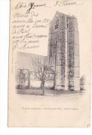 25223 Environs De DOURDAN - LES GRANGES Le ROI - L' Eglise -ed Lib Boutroue