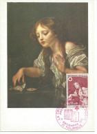 CARTE MAXIMUM (MAXIMUM CARD) 1971 CROIX ROUGE - L'OISEAU MORT - Maximumkarten