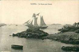 Cpa PAIMPOL 22 En Route Pour L' Islande - Paimpol