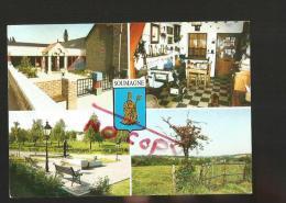 Cpm St000547 échevinat Du Tourisme De Soumage , 4 Vues Sur Carte , école D'ayeneux, Rue Vaux , Fontaine D'évegnée - Soumagne