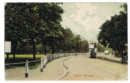 RB 1068 - 1905 Postcard - Horse Drawn Bus - Clapton Common - London - London Suburbs