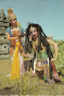 Traditional Bathari Durga DEscending To Earth To Help Burisrawa Getting Subadra Dance Folk Costumes - Dans