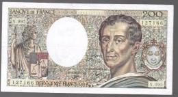 FRANCIA - FRANCE = 200 Francs 1987  P-155 - 1962-1997 ''Francs''