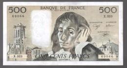 FRANCIA - FRANCE = 500 Francs 1990  P-156 - 1962-1997 ''Francs''