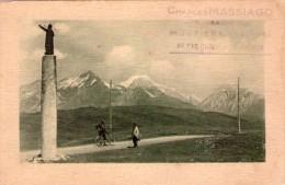 CPA:  Col Du St. Bernard Et Le Mont Blanc.       (L 14) (A 2766) - Altri Comuni