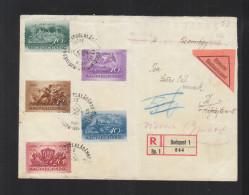 Hungary Registered Cover 1938 Retour - Ungarn