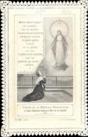 Devotie Devotion - Chromo - Apparation De La Vierge à Soeur Cathérine Labouré - Images Religieuses