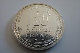 Pièce Commémorative Europa Taux De Conversion 6,55957 - France