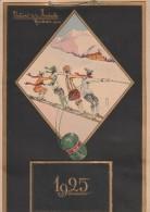 """Calendrier Publicitaire  """" Filatures De La Redoute  Roubaix  1925 """"  2 Scan - Calendars"""