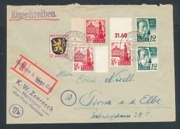 Französische Zone  R.-Brief   / Hottingen       (be123 ) Siehe Bild - Zona Francese