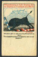 1921 Austria Germany Saltzburg Offizielle Absstimmungskarte Postcard - Events