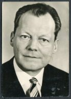 Germany Willy Brandt SPD RP Postcard - People