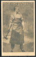 1918 Germany Durchhalten Wohlfahrtskarte Kaiserin Charity Postcard - People