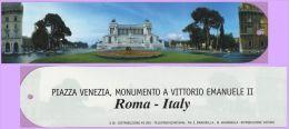 Marque-page °° Ville De Rome Italie - Piazza Venezia  5x22 - Lesezeichen