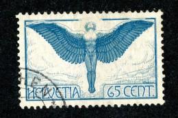 8440 - Swiss 1924   Michel # 189xI (o)  (cat. 30.€ ) - Poste Aérienne