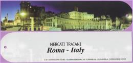 Marque-page °° Ville De Rome Italie - Mercati Traiani  5x22 - Marcapáginas