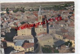 26  - PIERRELATTE - L' EGLISE   VUE AERIENNE LAPIE N° 21 - France