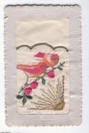 Fantaisie Brodée Oiseaux Fleurs - Ricamate