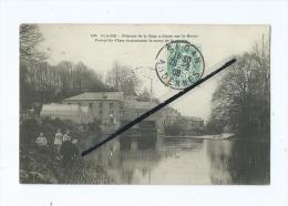 CPA  -  Glaire  - Filature De La Tour à Glaise Sur La Meuse -  Presqu'Ile D'Iges Surnommée Le Camp De La Misère - Autres Communes