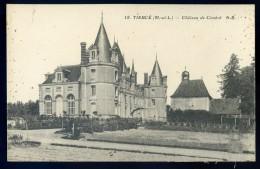 Cpa Du 49 Tierce -- Château De Cimbré (1)   PAR14 - Tierce