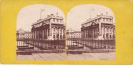 Vieille Photo Stereoscopique Avant 1900 Londres London Greenwich - Stereoscopic
