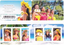 Polynésie Française / Tahiti - Epoges De Mer - Carnet De 6 Timbres - Neufs - French Polynesia