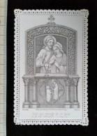 """Chromo Image Religieuse Canivet 1888, Alcan, """"Celui Qui Mange De Ce Pain A La Vie Eternelle...St Jean """" - Images Religieuses"""
