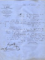 VP2297 - Articles En Fers A. MAREY Rue Commines à PARIS - Tréfilerie & Pointerie à GUE - France