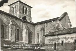 Y1868 Veroli (Frosinone) - Abbazia Cistercense Di Casamari - Campanile Crociera Della Basilica / Viaggiata 1968 - Altre Città