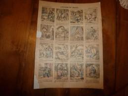 Vers 1900  Imagerie Pellerin               L'HYGIENE EN IMAGES                 Imagerie D'Epinal  N° 800 - Vieux Papiers