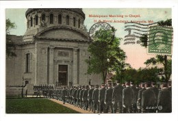Midshipmen Marching - U.S. NAVY ACADEMY - ANNAPOLIS - Md - Annapolis – Naval Academy