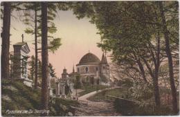 AK-  Hostýn (Hostein) - Blick Zur Basilika Mit Kreuzweg 20er - Tschechische Republik