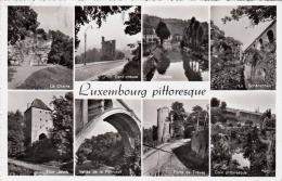 LUXEMBOURG - Pittoresque, Gel.195?, 2 Sondermarken - Luxemburg - Stadt