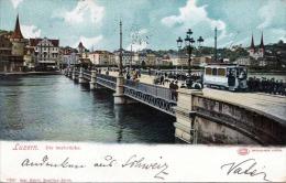 LUZERN - Die Seebrücke, Gel.1904 - LU Lucerne